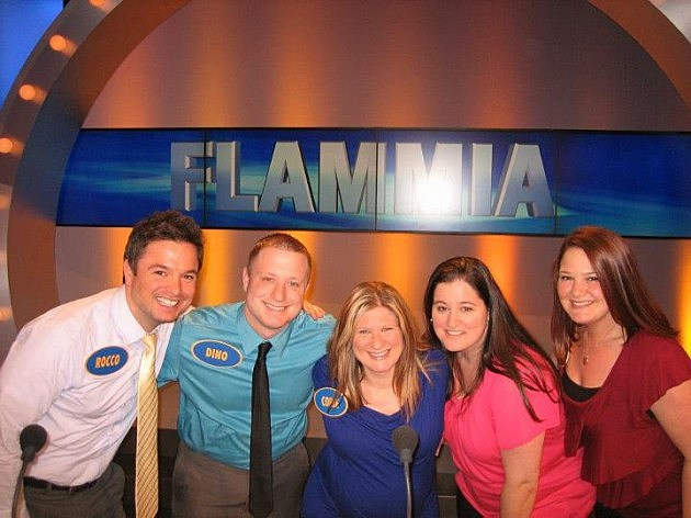Flammia Family on Family Feud tonight 9-10-12