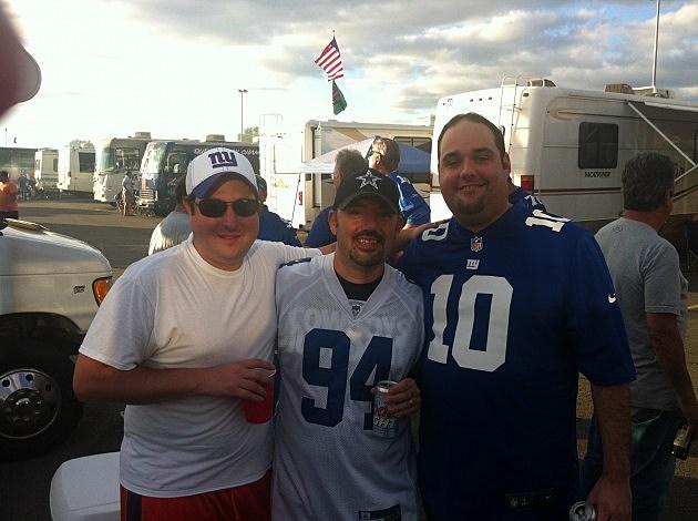 NJ1015's Representitives at the NFL Kickoff last night at MetLife Stadium