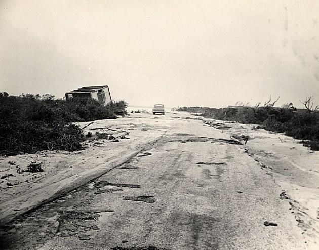 Seaside Heights after the Great Atlantic Hurricane of 1944 Photo Credit NJ State Archives via Dept. of Transportation Collection