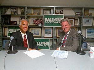 Tom Mongelli and Congressman Frank Pallone