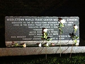 9/11 Memorial in Middletown