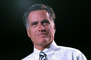 Mitt Romney speaks during a campaign rally at the Reno Event Center