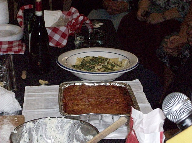 Photo of the finished meal provided by Dennis and Judi