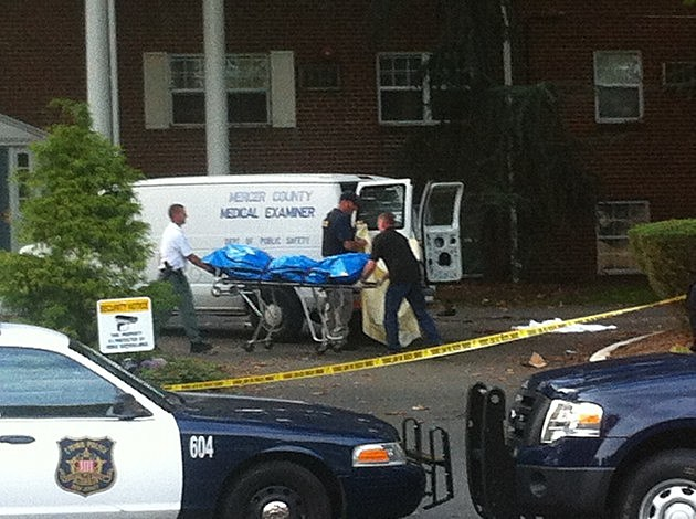 Murder Scene in Ewing NJ