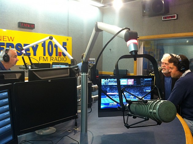 The Osmonds, Merrill and Justin with Dennis Malloy on NJ1015