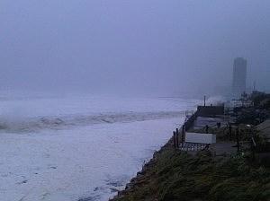 Asbury Park during Sandy