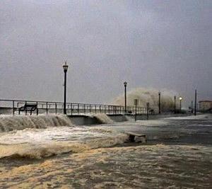Brigantine during Sandy