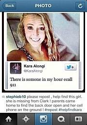 Kara Alongi's Tweet