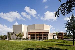 Wold Performing Arts Center at Lynn University in Boca Raton, Florida