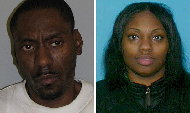 From left to right: Anthony Prince and Latoya Johnson of Newark. (Photo: NJ State Police)