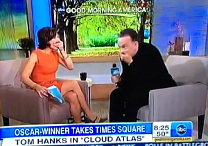 Tom Hanks Curses on GMA