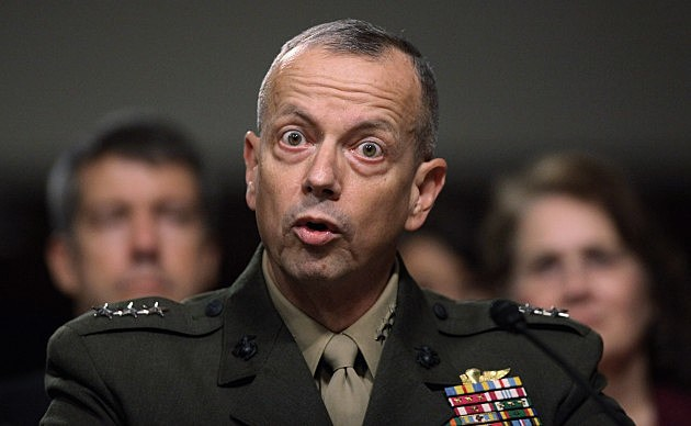 Confirmation Hearing Held For Marine Corps Lt. Gen. John Allen To Take Over Command Of Afghanistan