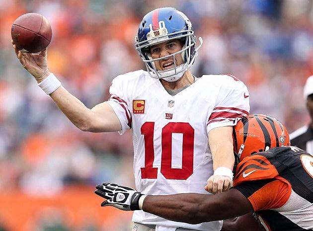 New York Giants recent slide has fans feeling blue