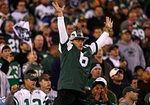 Jets fan Fireman Ed Anzalone