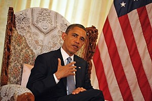 President Barack Obama during Asian trip