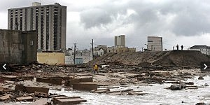 Atlantic City after Sandy