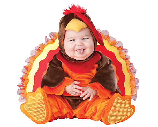 10 Ridiculously Cute Thanksgiving Outfits For Babies