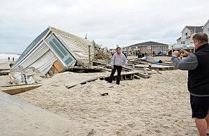 Belmar Storm Damage