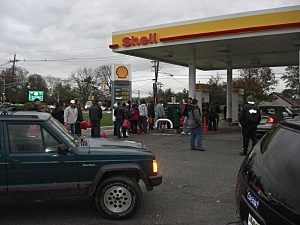 Gas shortage in Hillsborough