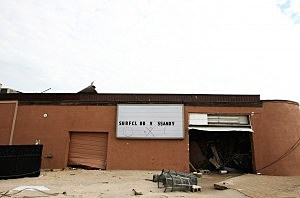 Hurricane Sandy Destroys Surf Club