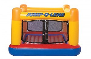 Example of a bounce house