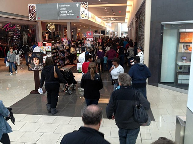Cherry Hill Mall on Black Friday