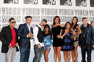 Jersey Shore cast (Photo by Frederick M. Brown/Getty Images)