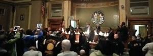 Chaos at Newark City Council meeting