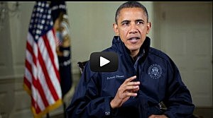 President Obama delivers his weekly internet address