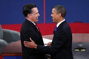 Obama And Romney Spar In Final Debate Before Presidential Election