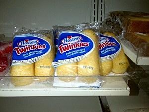 Twinkies on display