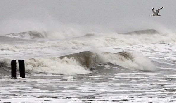 Atlantic Ocean During Hurricane Sandy