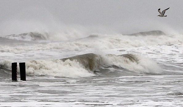Atlantic Ocean During Hurricane Sandy