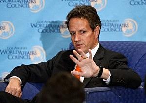 U.S. Secretary of the Treasury Tim Geithner