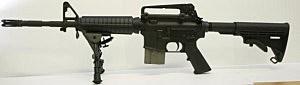 A Bushmaster XM-15