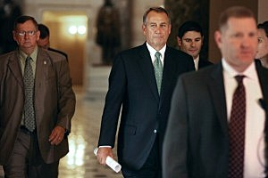 Speaker of the House John Boehner (R-OH)