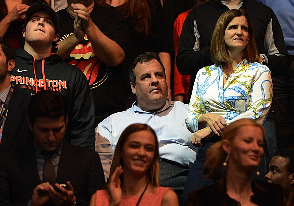 Governor Chris Christie attends 12-12-12 Concert at Madison Square Garden