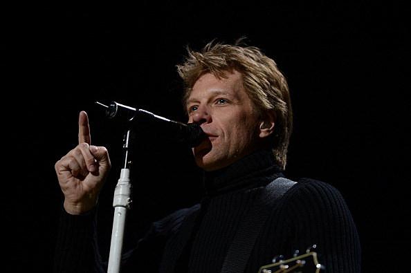 Jon Bon Jovi performs at 12-12-12 concert at Madison Square Garden
