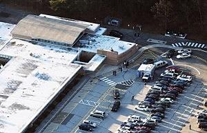 Sandy Hook Elementary School in Newtown, Connecticut