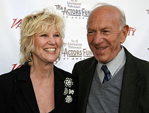 ack Klugman and his wife Peggy Klugman