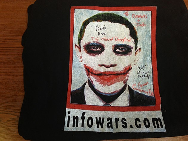 Obama Shirt from Conspiracy Bob