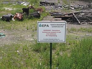 Quanta Resources Superfund site in Edgewater
