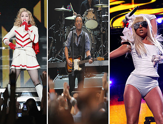 What are the Top Concerts of 2012?