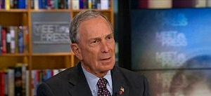New York Mayor Michael Bloomberg on NBC's Meet the Press