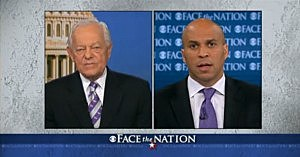 Cory Booker on Face The Nation