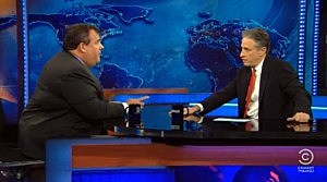Governor Christie on The Daily Show with Jon Stewart