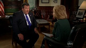 Governor Christie with Barbara Walters