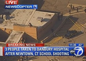 Sandy Hook Elementary School in Newtown, CT