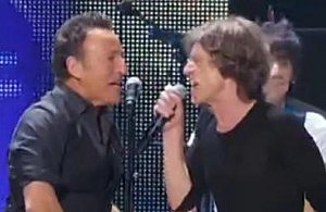 Rolling Stones and Bruce Springsteen
