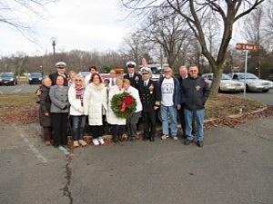 Wreathes Across America ceremony in Holmdel
